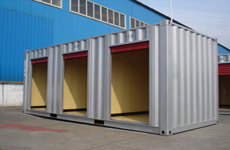 3 Rooms Self Storage Containers