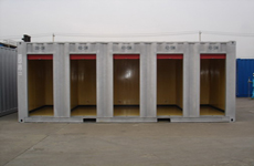 5 Rooms Self Storage Containers